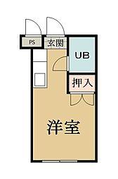 ゾンネンハイム[2階]の間取り