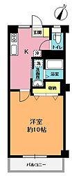 岡村ビル[3階]の間取り