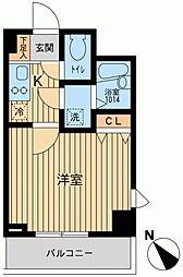アーデン駒沢大学[0602号室]の間取り