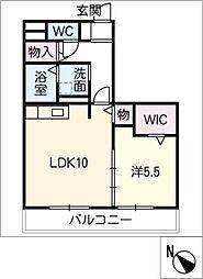 ションセイ G[1階]の間取り