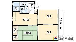 シャーメゾン20B棟[2階]の間取り