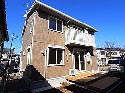千葉県野田市岩名2丁目の賃貸アパートの外観