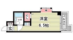 杉本マンション[3階]の間取り