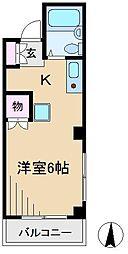 中村ハイム[2階]の間取り
