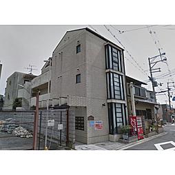 京都府京都市北区紫竹下緑町の賃貸アパートの外観