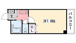 リッチライフ甲子園VIII[211号室]の間取り