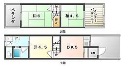 [テラスハウス] 大阪府門真市千石西町 の賃貸【/】の間取り