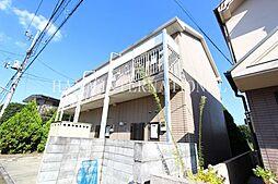 東京都府中市浅間町2丁目の賃貸アパートの外観
