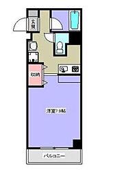 神奈川県相模原市中央区淵野辺3丁目の賃貸マンションの間取り