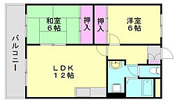 大新ビル[4階]の間取り