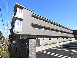 千葉県流山市後平井の賃貸マンションの外観