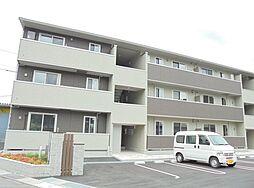 広島県福山市水呑町の賃貸アパートの外観