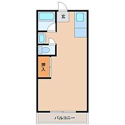 BLOC ASAHI(ブロック アサヒ)[508号室号室]の間取り
