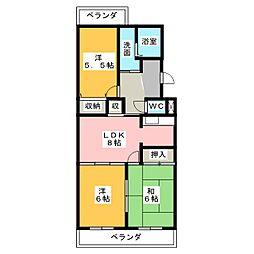 DM41[3階]の間取り