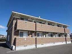 三重県津市末広町の賃貸アパートの外観