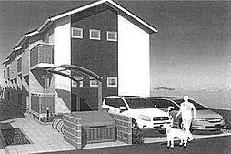 埼玉県八潮市大瀬3の賃貸アパートの外観