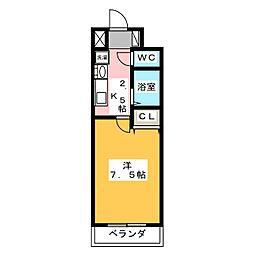 T's Dream栄[2階]の間取り