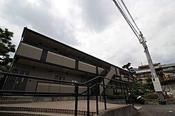 兵庫県神戸市灘区赤坂通6丁目の賃貸アパートの外観