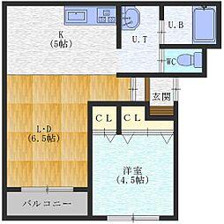 MAP〜マップ〜[302号室]の間取り