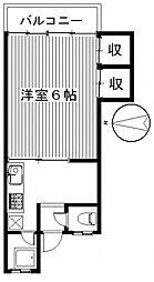 エトワールナツホ[103号室号室]の間取り