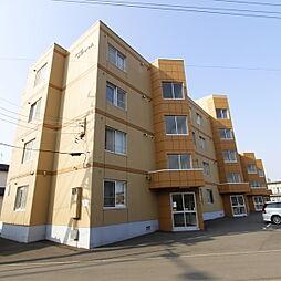 北海道札幌市厚別区厚別西二条5丁目の賃貸マンションの外観