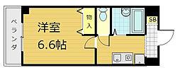 コンフォート桃山[4階]の間取り