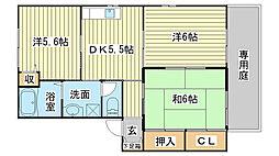 シャーメゾンさくら坂[B101号室]の間取り