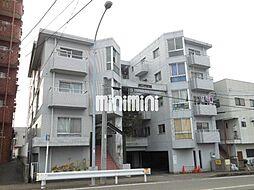 愛知県北名古屋市六ツ師北屋敷の賃貸マンションの外観