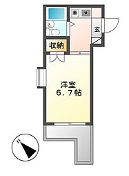 ジョイフル本山[3階]の間取り