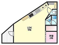 Confuerza[1階]の間取り
