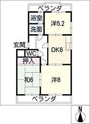シャトレーンIII[4階]の間取り
