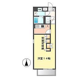 ケースクエア[6階]の間取り