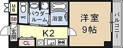 K-FLAT[402号室号室]の間取り