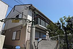 千葉県船橋市本中山2丁目の賃貸アパートの外観