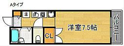 マ・メゾン21[6階]の間取り