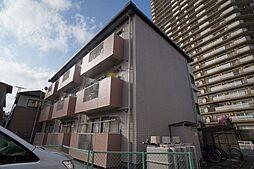 埼玉県桶川市若宮2丁目の賃貸マンションの外観