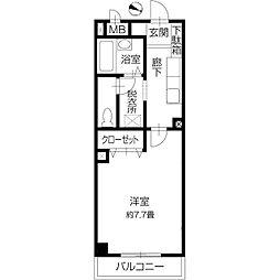 NMB.B.新倉敷[2階]の間取り