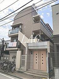 東京都板橋区赤塚2丁目の賃貸マンションの外観