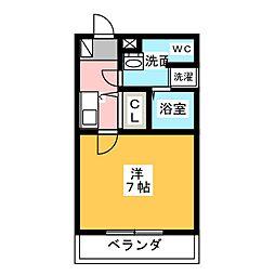 CREA児玉[2階]の間取り