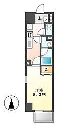 パークフラッツ新栄(旧:ラフィット新栄)[2階]の間取り