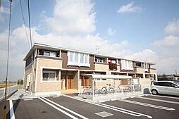 埼玉県加須市川口の賃貸アパートの外観