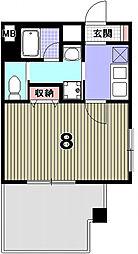 アメージングエステート北野乃杜[2階]の間取り