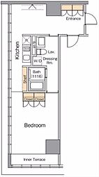 アイリブフォレスト[3階]の間取り