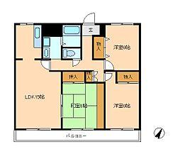 第5ビューストーンハイム[3階]の間取り