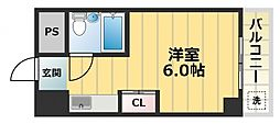 エクセルシオール長田[9階]の間取り