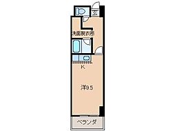パンテオン[8階]の間取り