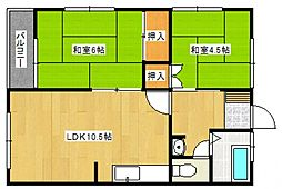 南久留米駅 3.5万円