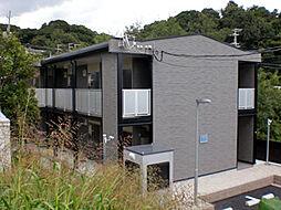 兵庫県神戸市須磨区車字口中ノ尾の賃貸アパートの外観