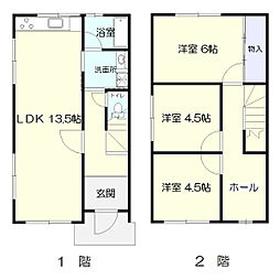 メルハウス[1-2号室]の間取り