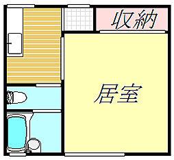 花の木ハイム[2階]の間取り